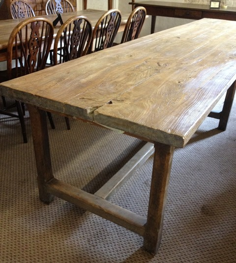 antique tables uk french farmhouse refectory - Antique Farmhouse Kitchen Tables