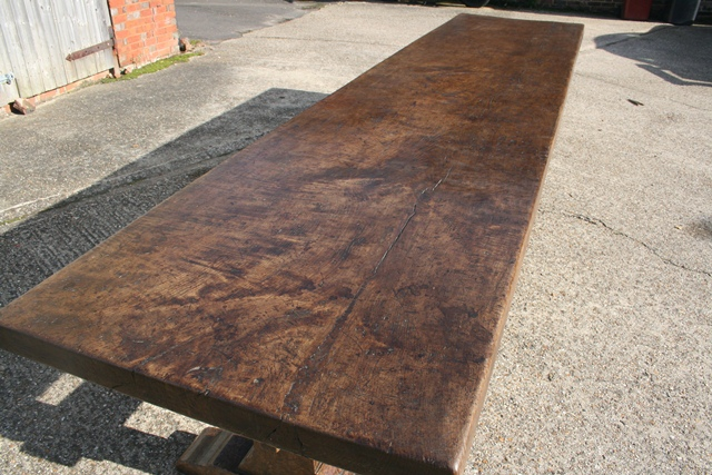 17th Century Style Trestle Table has arrived...