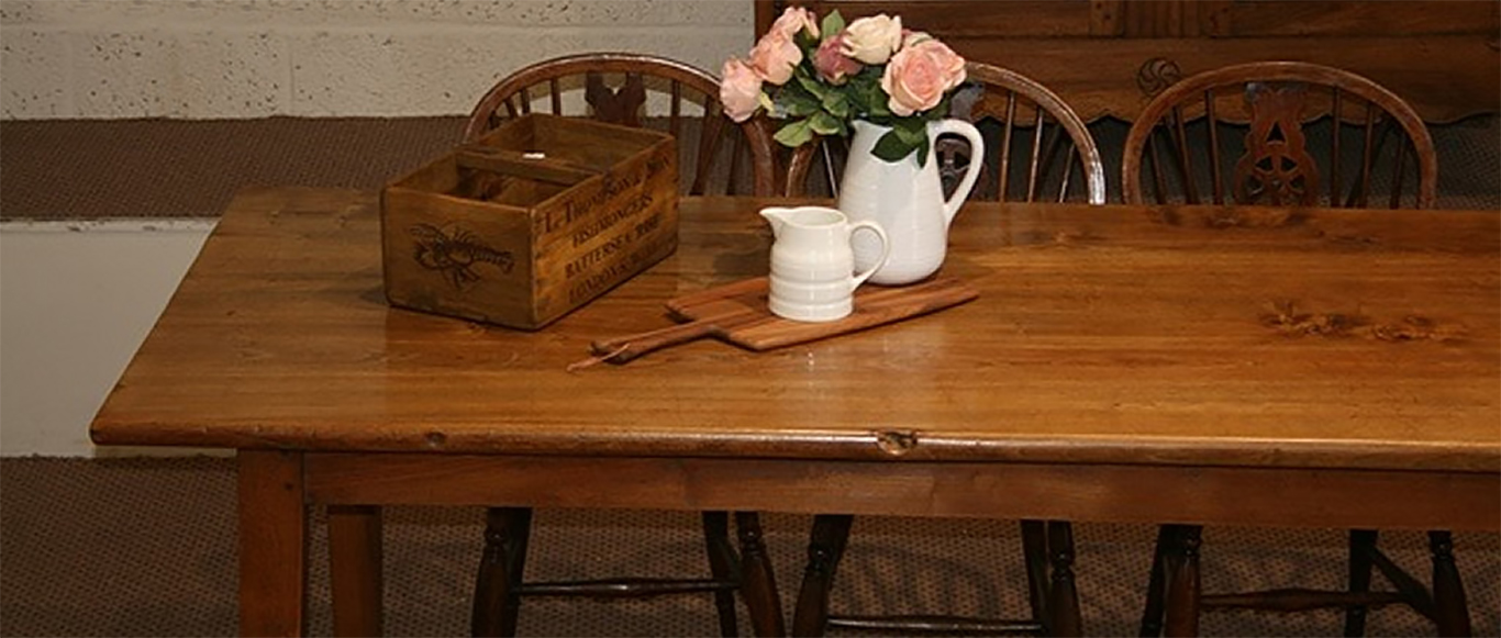 Some Of Our Antique Tables Stock