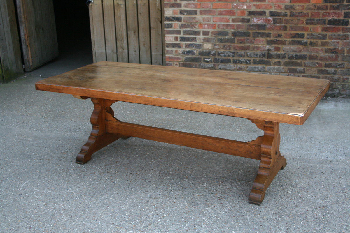Brilliant Antique Trestle Dining Table 1200 x 800 · 262 kB · jpeg