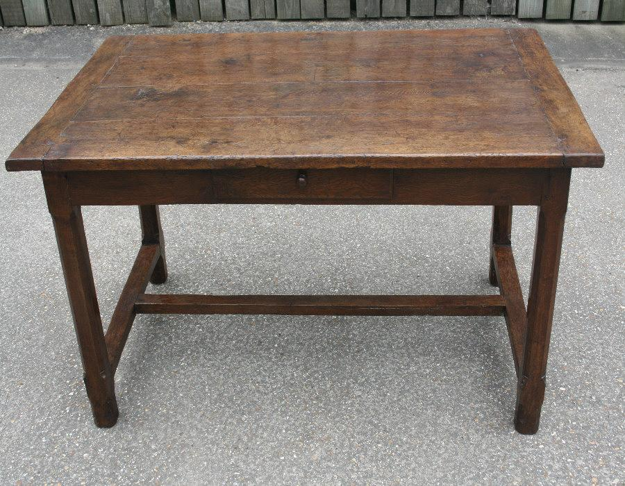oak dining table small kitchen table antique table refectory table
