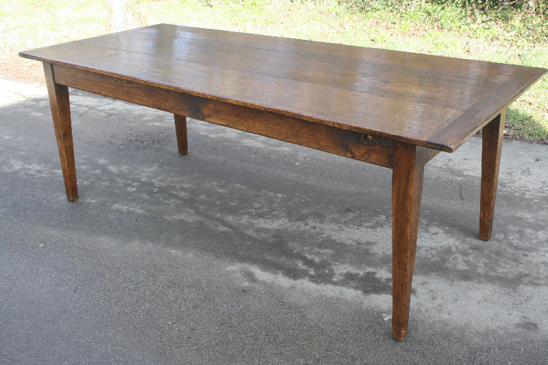 Antique French oak Farmhouse Table Tables 2m to 2 5m