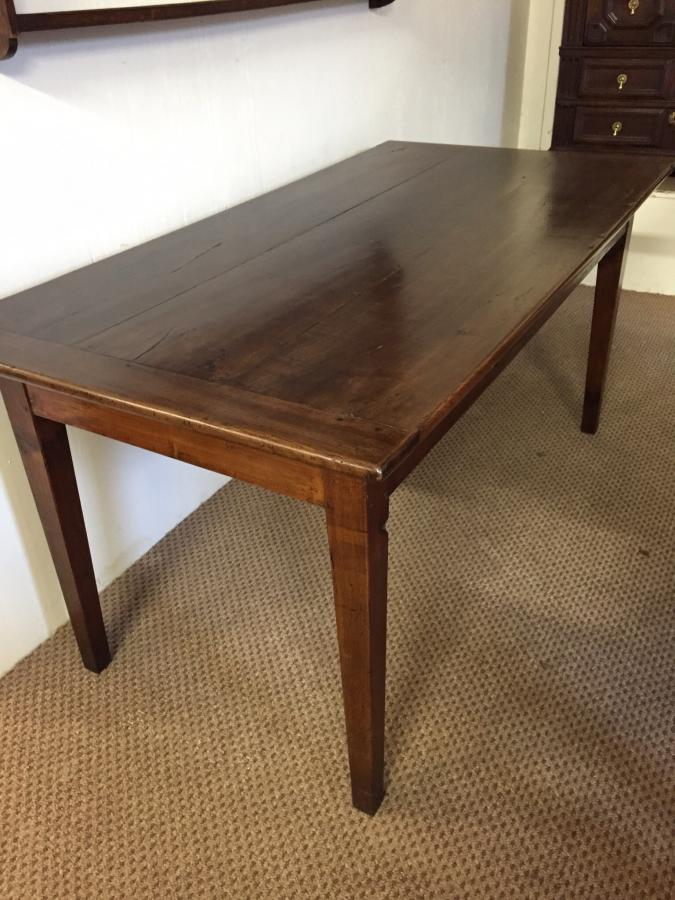 A lovely little cherry antique table