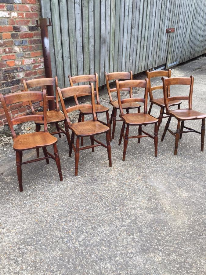 Antique bar back Oxford chairsAntique Dining Chairs UK  French Country Ladderback Chairs  Oak  . Antique Windsor Dining Chairs For Sale. Home Design Ideas