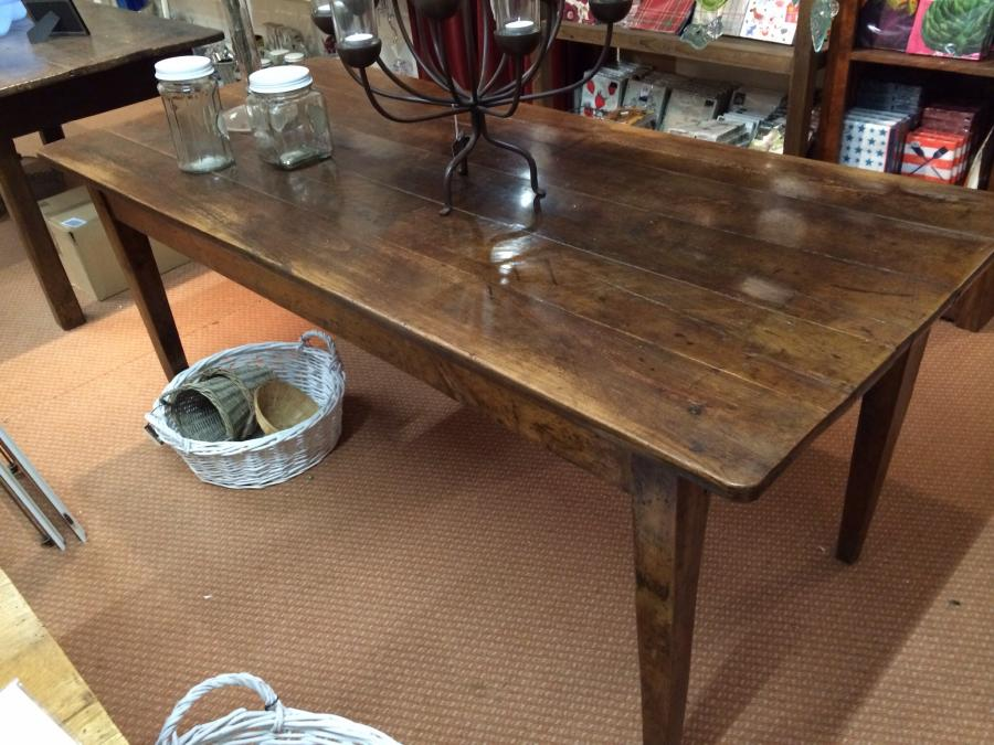 Antique Cherry Table Antique Cherry Table Dining Table Tables 1m To 2m