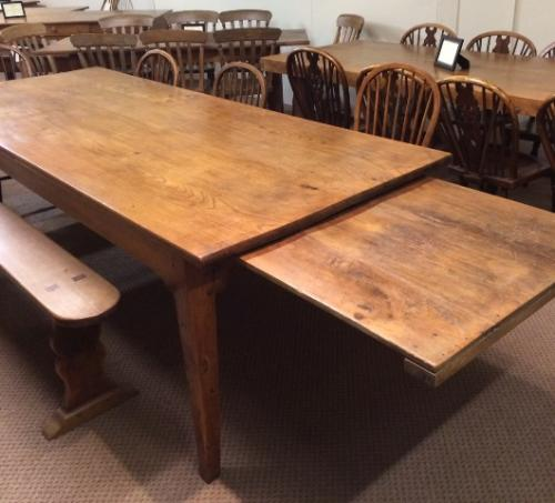 Antique Elm Dining Table