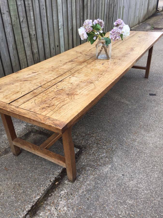Plank Style Kitchen Tables