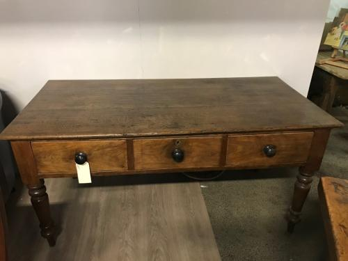 Antique Oak & Walnut  Server