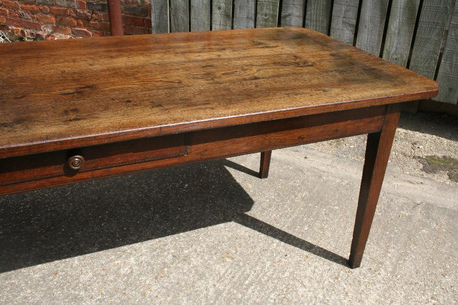 Antique Oak Farmhouse Table Dining Tables