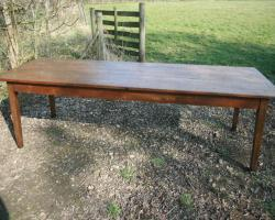 Antique Oak French Farmhouse table - Circa 1840