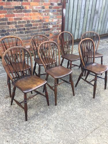 Antique Windsor Stick back chairs