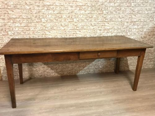 Late 19th Century rustic farmhouse table