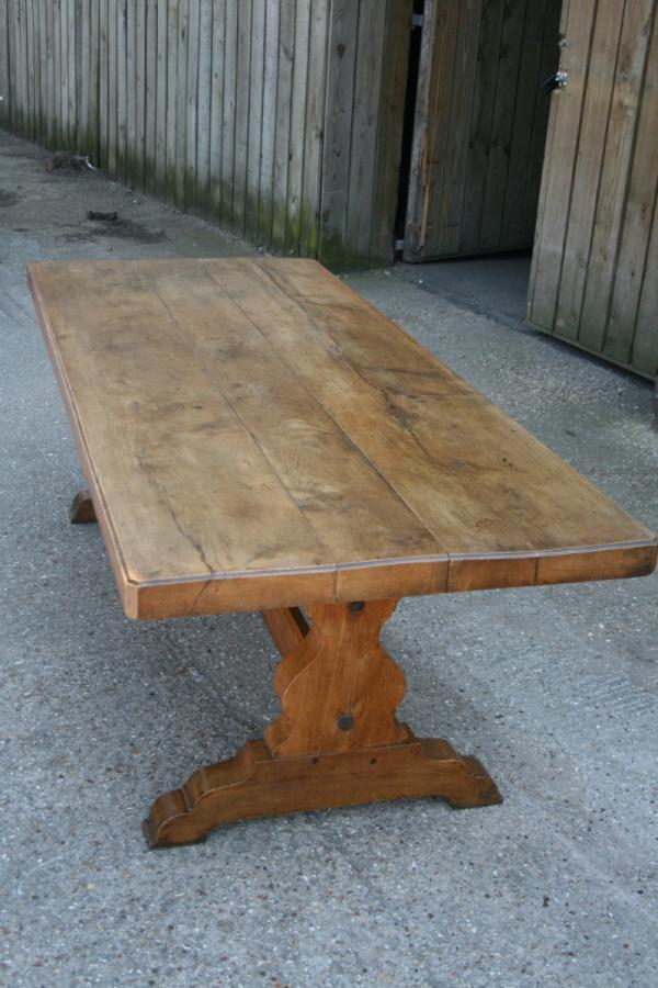 Beech Trestle Table.