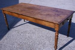 French Cherry and Cedar table