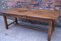 Fruitwood Refectory style table