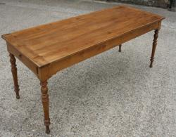 A Charming Antique French farmhouse Table 7'