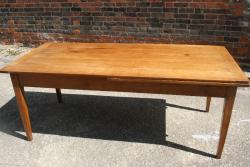 Most impressive Cherry single drawerleaf table
