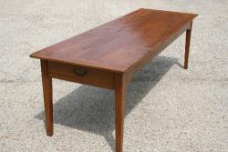 19th C Cherry French Farmhouse Table