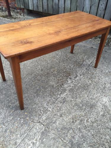 Cherry antique French farmhouse table Antique cherry dining table antique