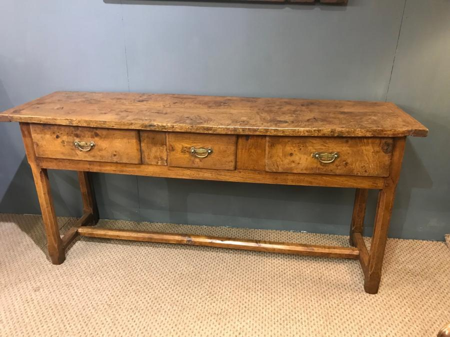 Early 19th Century Ash Antique French Server