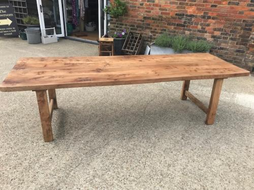 Elm 20th Century Farmhouse Table
