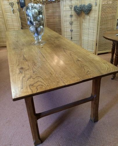 Elm French Farmhouse table.