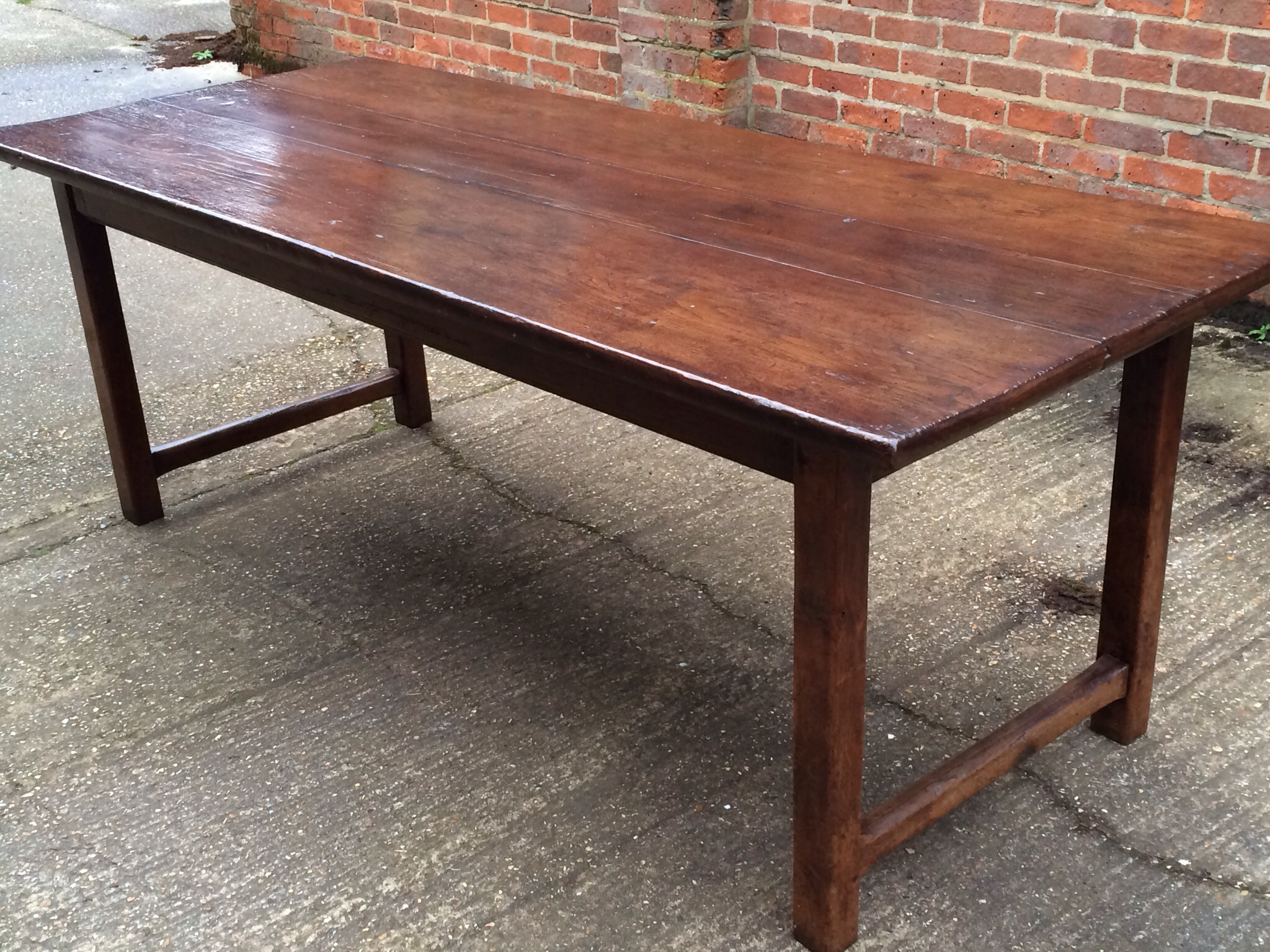 Lovely antique oak French farmhouse table