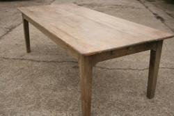 Antique Beech Rustic Farmhouse Table