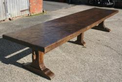 17th Century Style Trestle Table