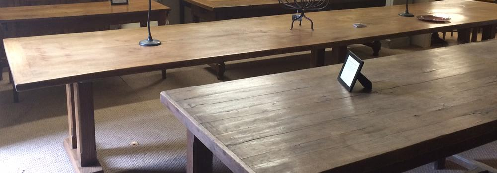 Antique Large Dining Tables - 3m +