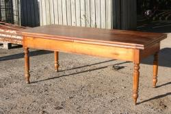 Cherry double drawerleaf Table