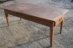 Cherry antique farmhouse table