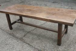 Antique Normandy Elm Table