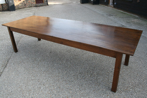 Oak french farmhouse table sold gallery for 12 seater farmhouse table
