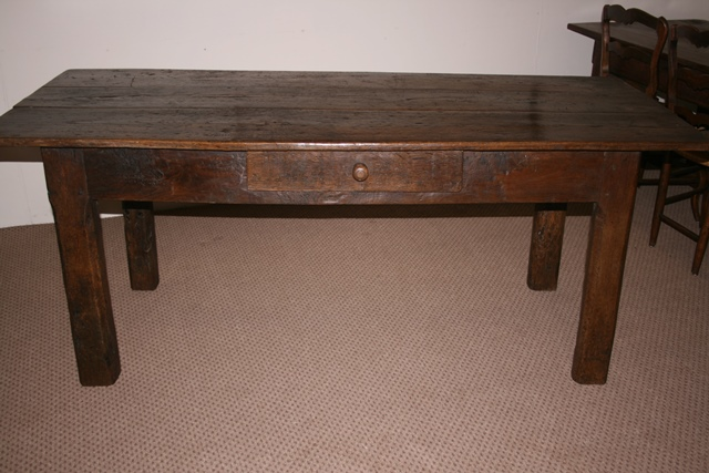 oak antique table antique dark rustic oak table tables dining