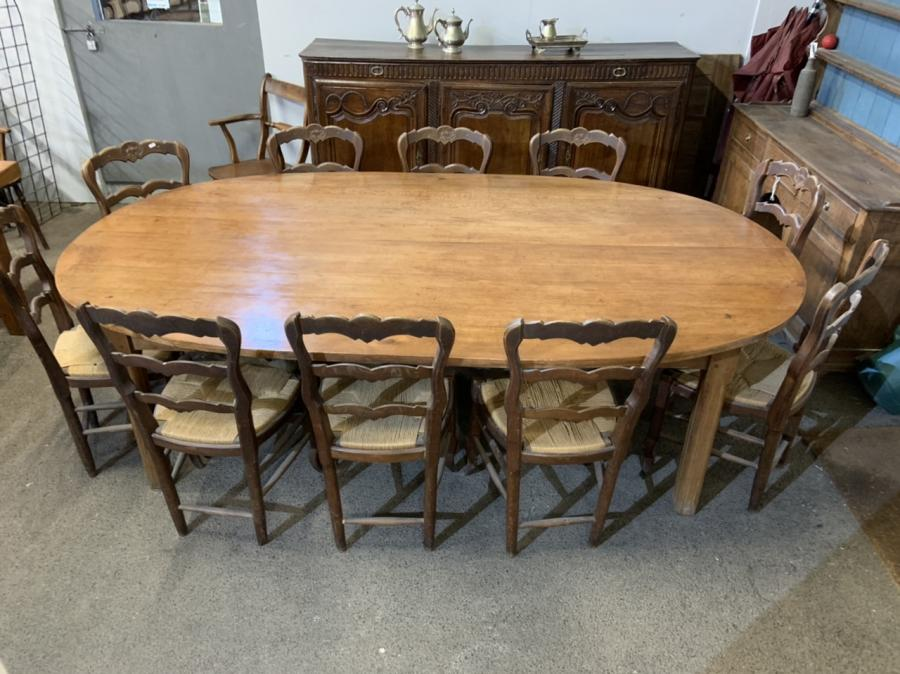 Antique Farmhouse Tables for Mixing and Matching