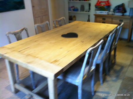 Few examples of sold antique tables in situation