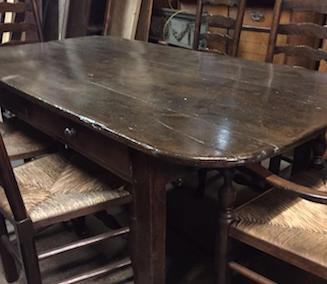 Choosing an antique table, have you considered Chestnut?