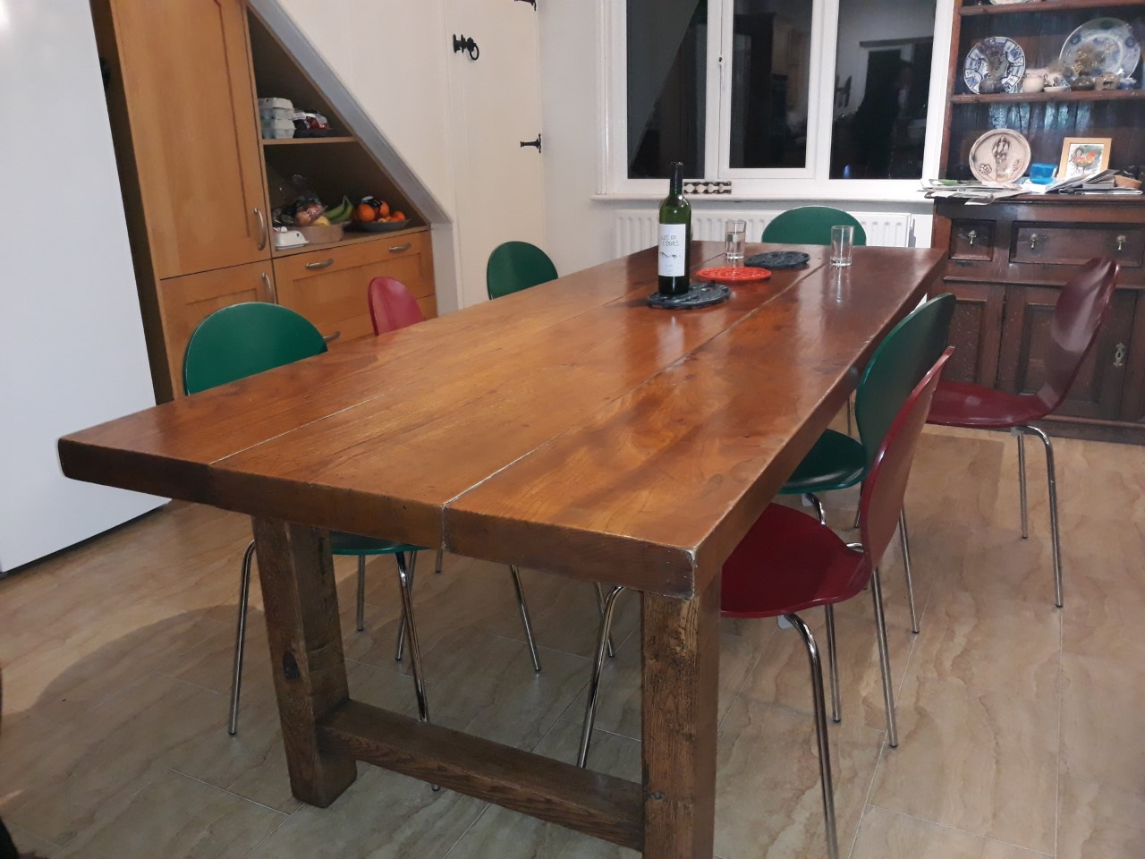 Elm Normandy Table