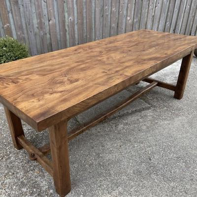 Elm Thick Top Farmhouse Tables