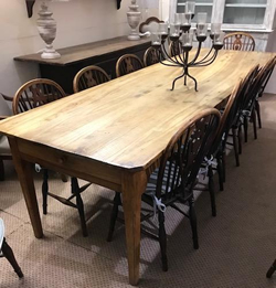 Find Large antique farmhouse tables in Chestnut