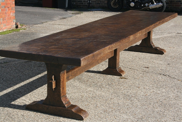 farmhouse tables in different settings antique tables uk  french farmhouse tables   refectory tables      rh   antique tables co uk