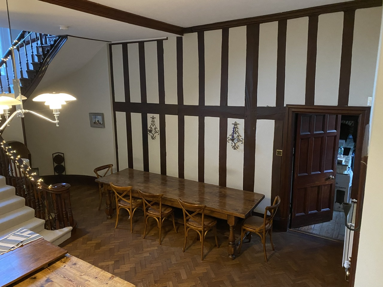 Large Antique Refectory Table