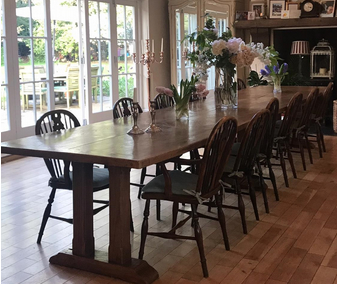 The advantages of large antique dining table