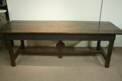 17th Century Oak and Fruitwood dining table