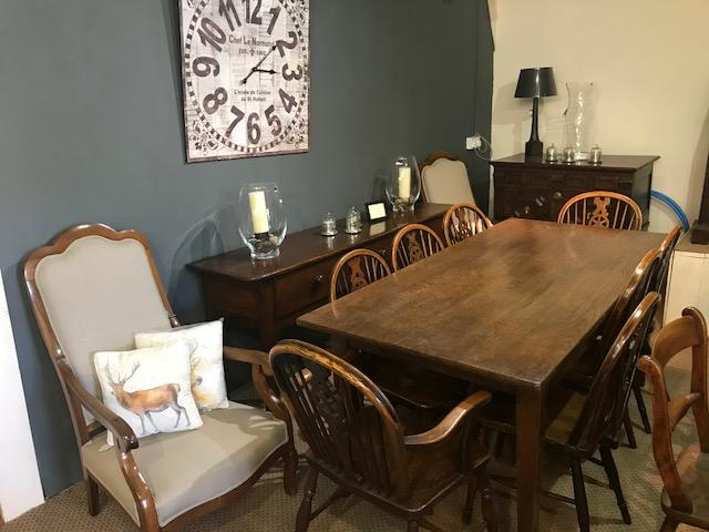 19th Century Ash Farmhouse Table