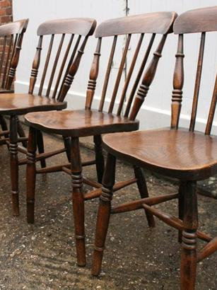 6 x Spindleback chairs