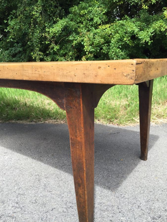 A beautiful continental antique farmhouse table
