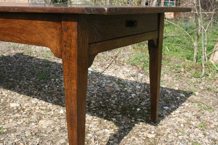 A lovely 8'2 x 3' Oak French Farmhouse Table