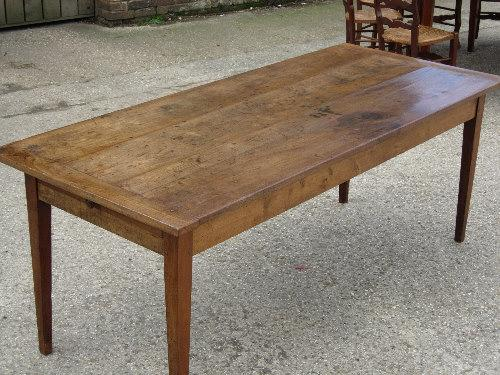 Antique Cherry table - 6'6 x 34